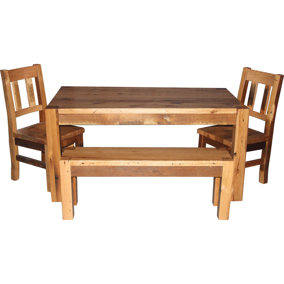 Timber Ridge Table with Bench and Side Chairs