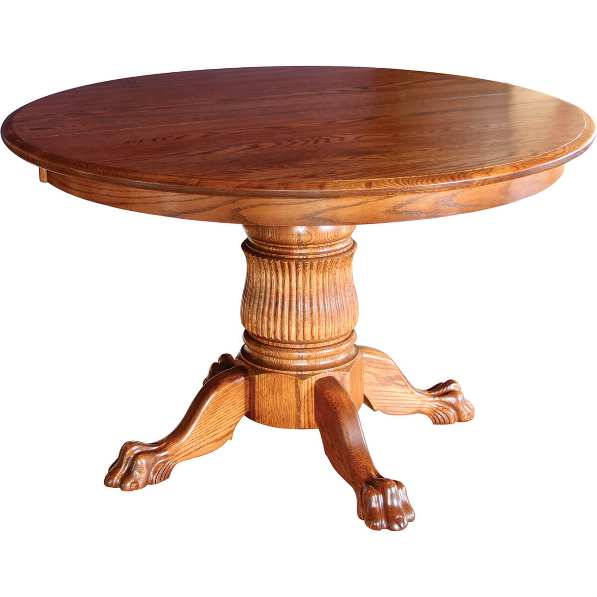 Tulip Single Pedestal Extension Table